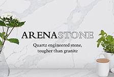 ARENASTONE - Quartz engineered stone, tougher than granite